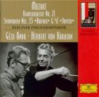 MOZART - Karajan - Symphonie n°35 en ré majeur K.385 'Haffner'