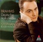 BRAHMS - Genz - Wach' auf mein' Herzensschöne (traditionnel), chant folk