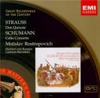 STRAUSS - Rostropovich - Don Quixote, pour violoncelle, alto et grand or