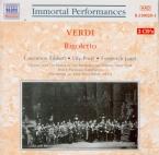 VERDI - Panizza - Rigoletto, opéra en trois actes (live MET 28 - 12 - 1935) live MET 28 - 12 - 1935