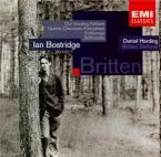 BRITTEN - Bostridge - Quatre chansons françaises, cycle de mélodies pour