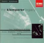 FRANCK - Klemperer - Symphonie pour orchestre enrémineur FWV.48