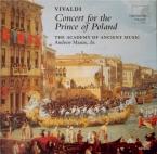 VIVALDI - Manze - Sinfonia pour cordes et b.c. en sol majeur RV.149