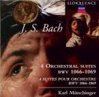 BACH - Münchinger - Suite pour orchestre n°1 en do majeur BWV.1066