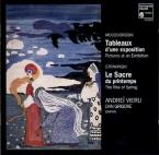MOUSSORGSKY - Vieru - Tableaux d'une exposition, pour piano