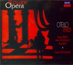 VERDI - Karajan - Otello, opéra en quatre actes