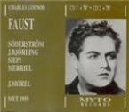 GOUNOD - Morel - Faust (live MET 119 - 12 - 1959) live MET 119 - 12 - 1959