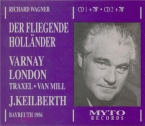 WAGNER - Keilberth - Der fliegende Holländer (Le vaisseau fantôme) WWV.6 live Bayreuth 25 - 7 - 1956
