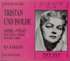 WAGNER - Karajan - Tristan und Isolde (Tristan et Isolde) WWV.90 Bayreuth 23 - 07 - 1952