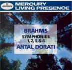 BRAHMS - Dorati - Symphonies (intégrale)