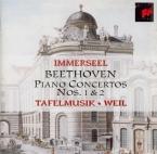 BEETHOVEN - Immerseel - Concerto pour piano n°1 en ut majeur op.15