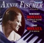 SCHUBERT - Fischer - Sonate pour piano en si bémol majeur D.960