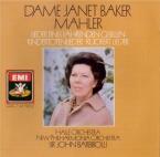 MAHLER - Baker - Kindertotenlieder (Chants pour des enfants morts), cycl