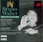 MOZART - Walter - Trois danses allemandes avec trios, pour orchestre K.6