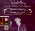 VERDI - Marinuzzi - La forza del destino, opéra en quatre actes (version