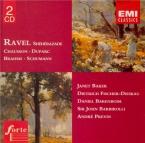 RAVEL - Baker - Schéhérazade, trois poèmes pour soprano ou ténor avec or