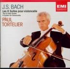 BACH - Tortelier - Six suites pour violoncelle seul BWV 1007-1012