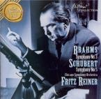 BRAHMS - Reiner - Symphonie n°3 pour orchestre en fa majeur op.90