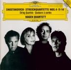 CHOSTAKOVITCH - Hagen Quartett - Quatuor à cordes n°4 op.83