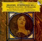 BRAHMS - Levine - Symphonie n°3 pour orchestre en fa majeur op.90