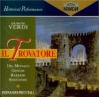 VERDI - Previtali - Il trovatore, opéra en quatre actes (version origina Live RAI milano 29 - 5 - 1957