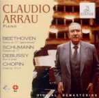 BEETHOVEN - Arrau - Sonate pour piano n°23 op.57 'Appassionata' live Ascona, 9 - 9 - 1959