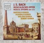 BACH - Kuijken - L'offrande musicale(Musikalisches Opfer), pour flûte