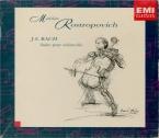 BACH - Rostropovich - Six suites pour violoncelle seul BWV 1007-1012