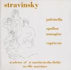 STRAVINSKY - Marriner - Pulcinella, suite pour orchestre