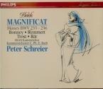 BACH - Schreier - Magnificat en ré majeur, pour solistes, choeur et orche