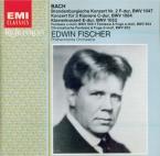 BACH - Fischer - Concerto brandebourgeois n°2 pour orchestre en fa majeu