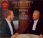 BRAHMS - Oppitz - Concerto pour piano et orchestre n°2 en si bémol majeu