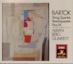 BARTOK - Alban Berg Quar - Quatuor à cordes n°4 Sz.91 BB.95