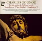 GOUNOD - Petit - Les sept paroles du Christ sur la croix, pour chœur et