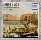 HAYDN - Kuijken - Symphonie n°93 en ré majeur Hob.I:93