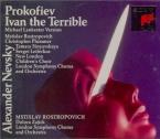 PROKOFIEV - Rostropovich - Ivan le terrible, musique du film d'Eisenstei