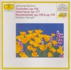 BRAHMS - Kempff - Six fantaisies pour piano op.116