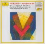 PROKOFIEV - Karajan - Symphonie n°1 en ré majeur op.25 'Symphonie classi