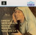 MAHLER - Mitropoulos - Symphonie n°6 'Tragique' (live Köln, 31 - 8 - 1959) live Köln, 31 - 8 - 1959