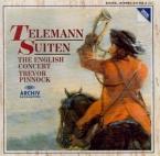 TELEMANN - Pinnock - Ouverture pour trois hautbois, cordes et basse cont