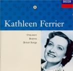 BRAHMS - Ferrier - Ernste Gesänge, quatre chants sérieux pour basse solo
