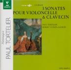 BACH - Tortelier - Sonate pour viole de gambe et clavier n°1 en sol maje