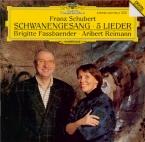 SCHUBERT - Fassbaender - Schwanengesang (Le chant du cygne), cycle de mé