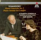 TCHAIKOVSKY - Leonskaja - Concerto pour piano n°2 en sol majeur op.44
