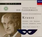 STRAUSS - Krauss - Die Fledermaus (La chauve-souris), opérette WoO RV.50 + concert Nouvel An 1951