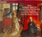 BACH - Redel - Messe luthérienne en la majeur, pour solistes, chœur et o