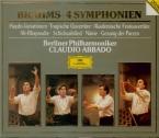 BRAHMS - Abbado - Symphonies (intégrale)