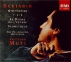 SCRIABINE - Muti - Symphonie n°1 op.26