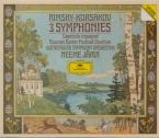 RIMSKY-KORSAKOV - Järvi - Symphonie n°1 op.1