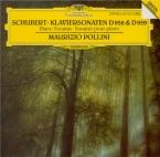 SCHUBERT - Pollini - Sonate pour piano en la majeur D.959